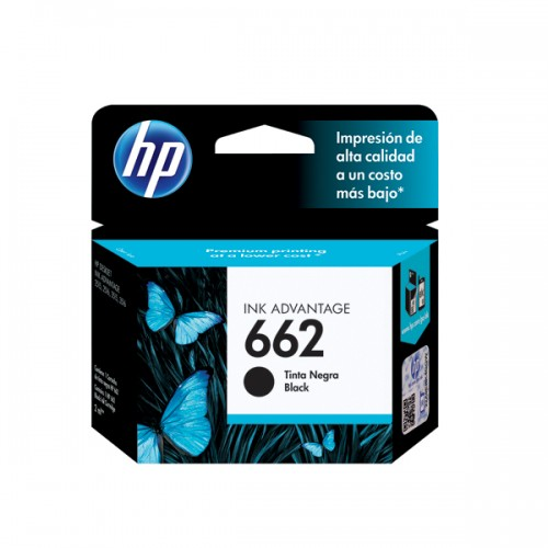 Cartridge HP 662 color negro CZ103AL x 1 unidad