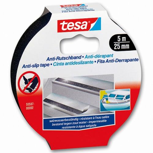 Cinta antideslizante Tesa 25 mm x 5 mts
