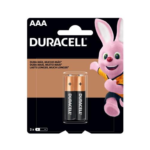 Pila alcalina Duracell blíster AAAx2