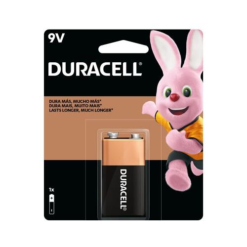 Batería alcalina Duracell blíster 9v