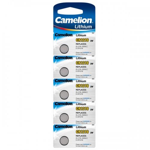 Pila botón Camelion CR1216 blx5