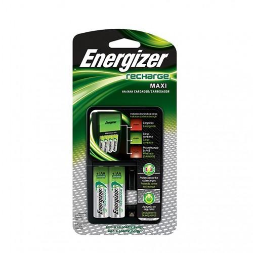 Cargador maxi Energizer AA /AAA con 2 pilas AA 2000 mah