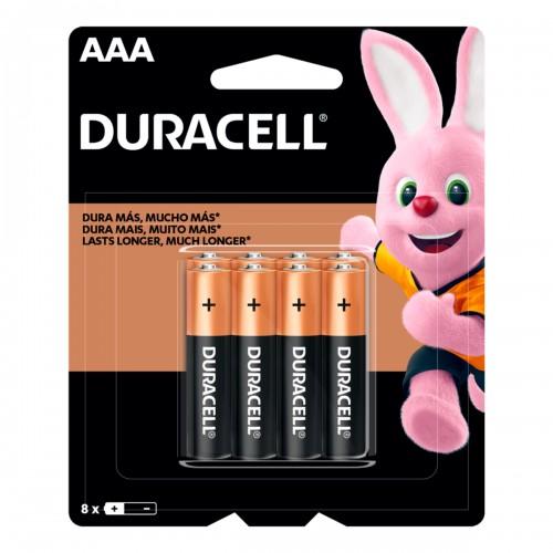 Pila alcalina Duracell blíster AAAx 5+ 3