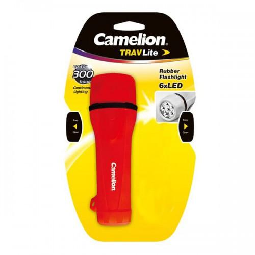 Linterna Engomada Camelion TRAVlite 6 LED S/2D