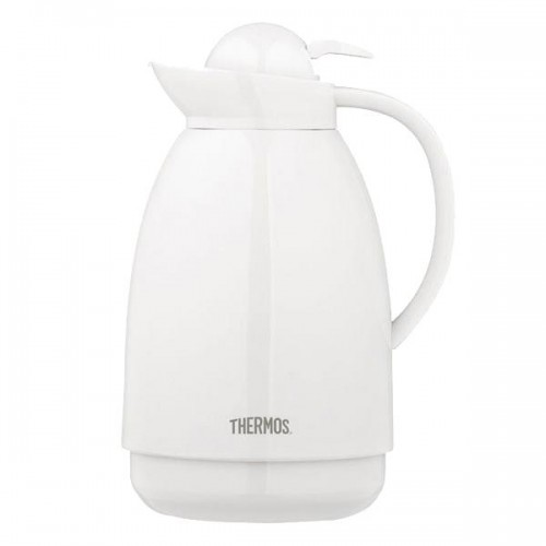 Jarra de mesa Thermos plástico 1lt blanco 7397