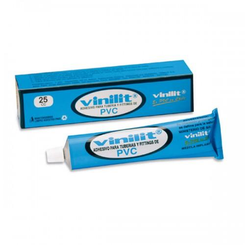 Adhesivo para tuberías Vinilit normal pomo 25 cc