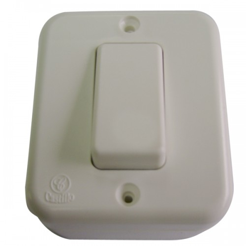 Interruptor sobrepuesto simple Castillo