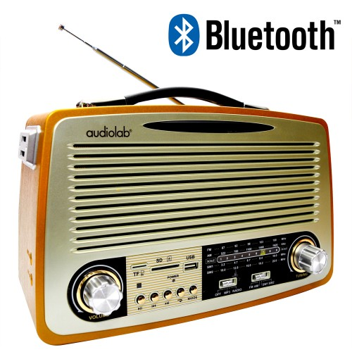 Radio Audiolab Retro Recargable BT