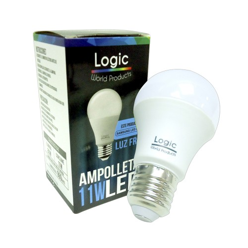 Ampolleta Led Logic 11W luz fria