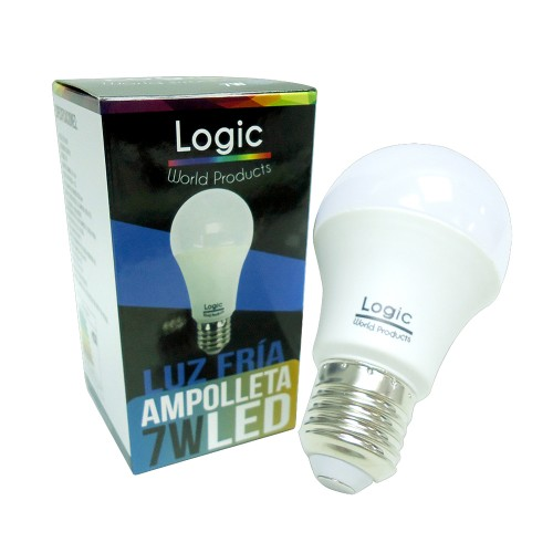 Ampolleta Led Logic 7W fria