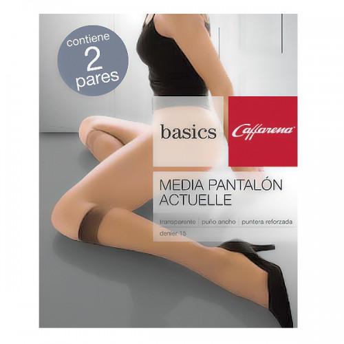 Media Pantalón Caffarena Actuel 2 pares por caja 1032