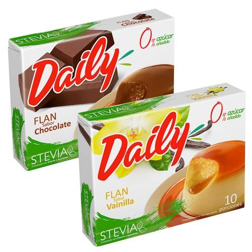 Flan Daily  con stevia