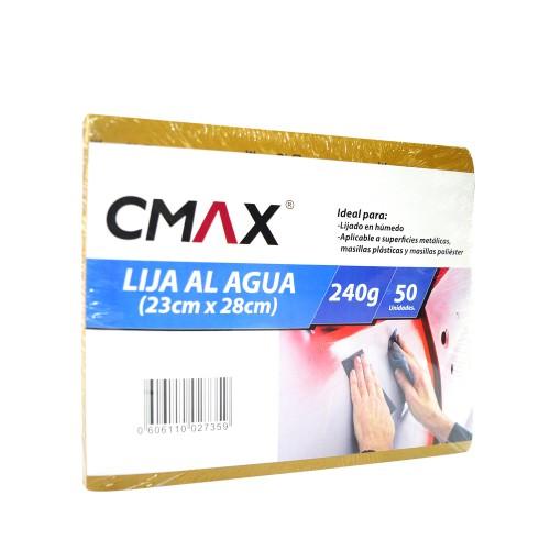 LIJA AGUA CMAX 240G X50 U