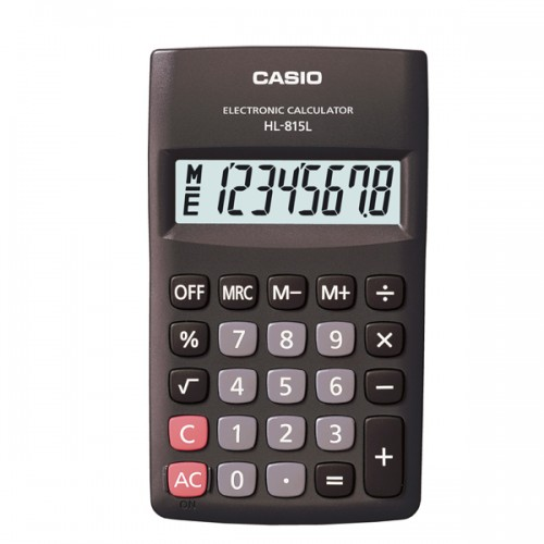 Calculadora Casio HL-815BK 8 digitos