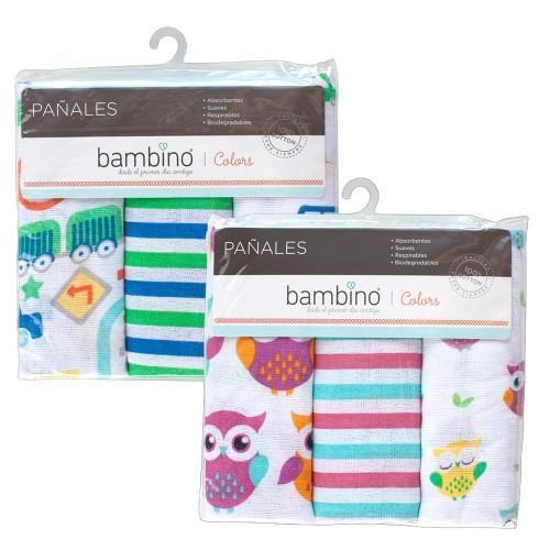 pañal Bambino color x3 unidades