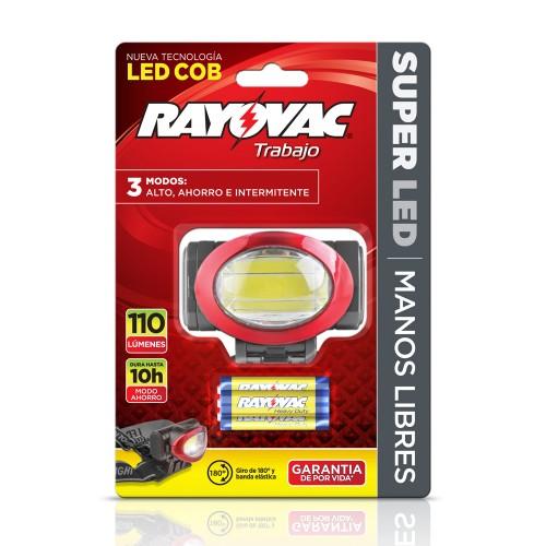 Linterna Rayovac manos libres 110L