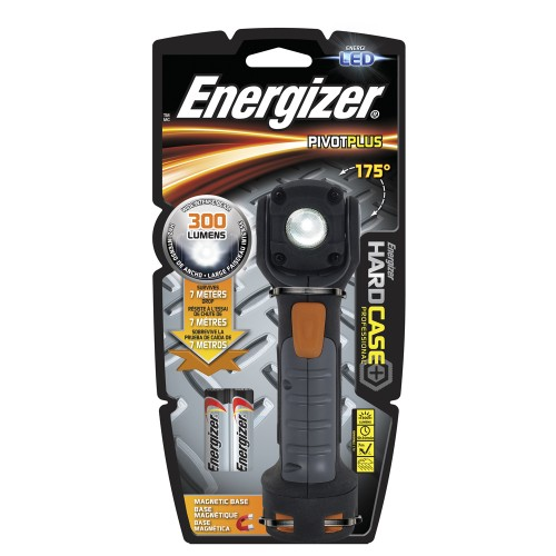 LINTERNA ENERGIZER  HARD-CASE PIVOT 2AA 300L